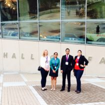 Dr. Sen Gupta with lab members at SFB Annual Conference 2015 in Charlotte, NC
